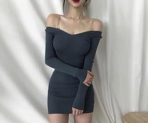 aesthetic, dress, and girl image