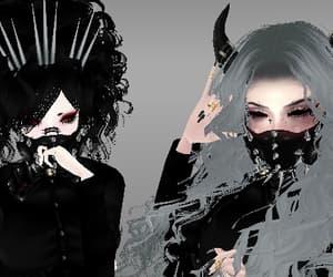 goth, imvu, and pastelgoth image