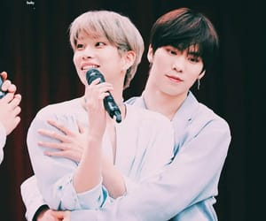 mj, moonbin, and rocky image