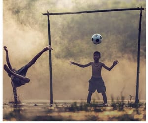 futball and love image
