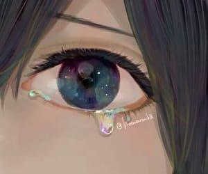 anime, art, and tear image
