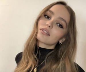 fashion, lily rose depp, and model image