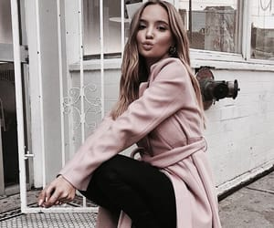 baby pink, chic, and coat image