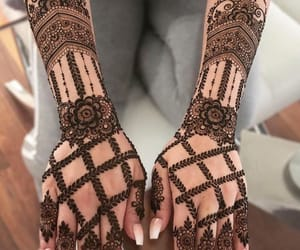 aesthetic, bridal, and henna image