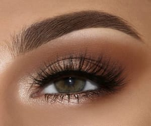 makeup, eye, and lashes image