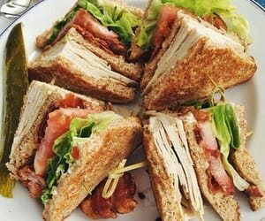 food, sandwich, and tasty image