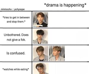 drama, bts, and funny image