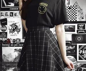black, aesthetic, and fashion image