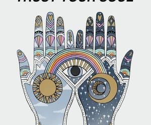 eye, spiritual, and hands image