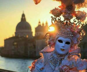 art, italy, and mask image