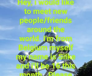 belgium, internet friends, and new friends image
