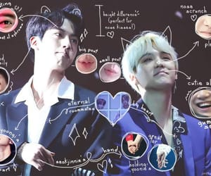 jin, kpop, and sin image