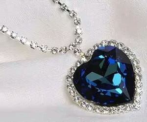 blue, heart, and beauty image