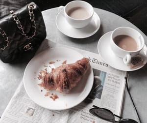 coffee, breakfast, and chanel image