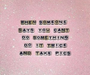 brave, pink, and do it image