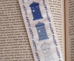 embroidery, tardis, and doctorwho image