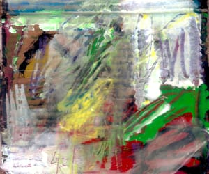 abstract, cool, and contemporary image