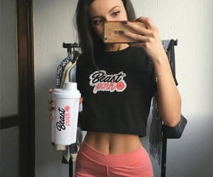 cardio, ootd fashion style, and gym outfit image