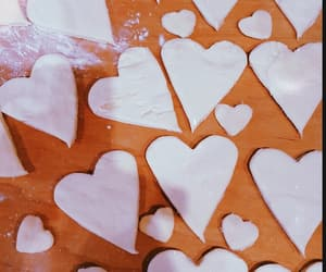 cookie, white, and love image
