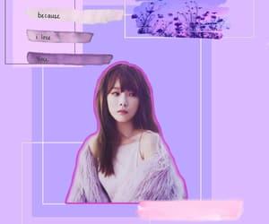 aesthetic, pastel, and taeyeon edit image