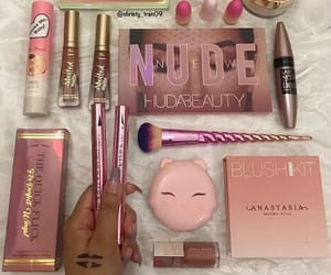 make up, Maybelline, and too faced image