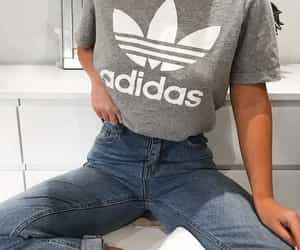adidas, brand, and casual image