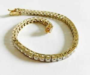 bling, etsy, and tennis bracelet image