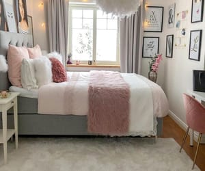 bedroom, beautiful, and cozy image