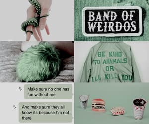aesthetic, character, and green image