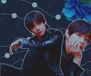 edit, fake love, and bts image