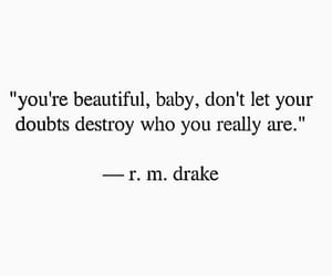 beautiful, let, and doubts image