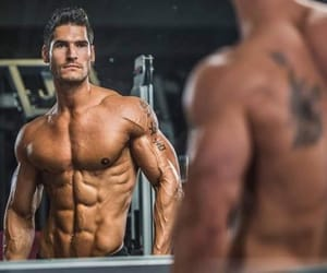 fitness, muscle, and supplements image