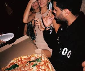 pizza, the weeknd, and abel tesfaye image