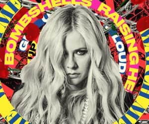 Avril Lavigne, head above water, and dumb blonde image