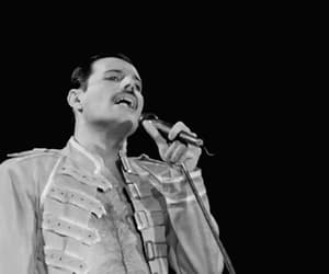 Freddie Mercury, handsome, and rock image