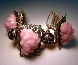 etsy, victorian revival, and pink bracelet image
