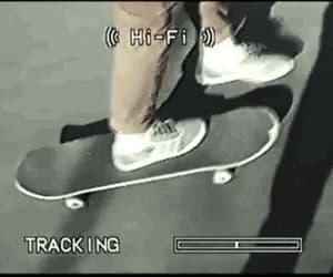 alternative, gif, and skateboard image