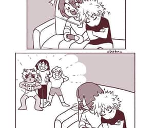 anime, couple, and funny image