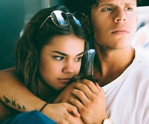 couple, famous, and maiamitchell image