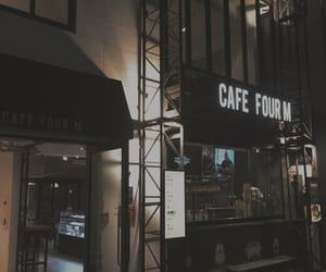 aesthetic, theme, and coffe shop image