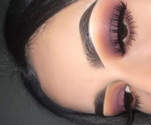 beauty, fall, and lashes image