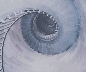 architecture, photography, and spiral image