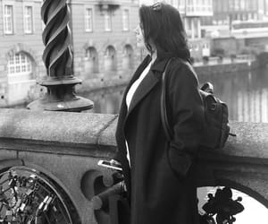 black and white, travel, and Harry Styles image