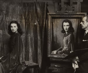 cinema, old hollywood, and painting image