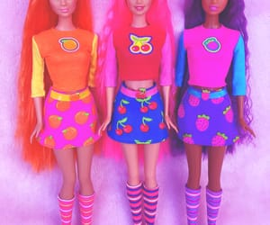 barbie, cool, and dolls image