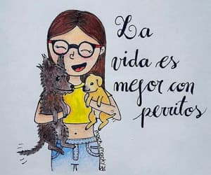 amor, lindas, and perros image