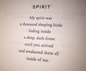 free, poetry, and spirit image
