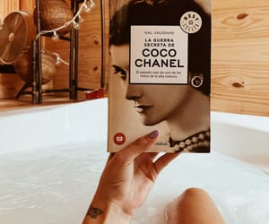 book, chanel, and jacuzzi image