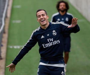adidas, real madrid, and happy image