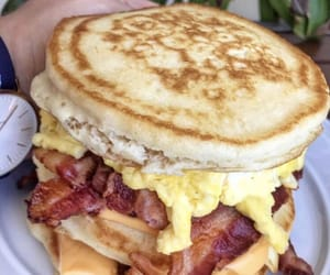 bacon, cheese, and egg image